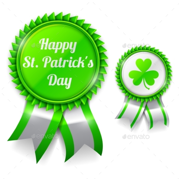 St. Patrick Day Medals - Miscellaneous Seasons/Holidays