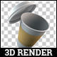 3D Render Paper Cup Pack - GraphicRiver Item for Sale