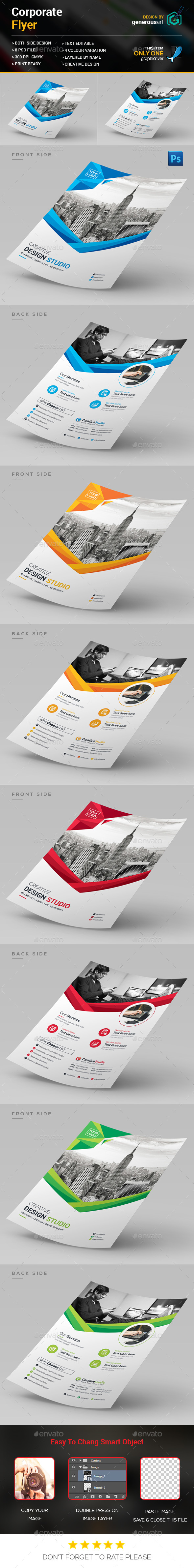 New Design Flyer - Corporate Flyers