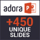 Adora - Multipurpose PowerPoint Template - GraphicRiver Item for Sale