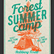 Forest Summer Camp - GraphicRiver Item for Sale