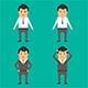 Businessman Character Emotion - GraphicRiver Item for Sale
