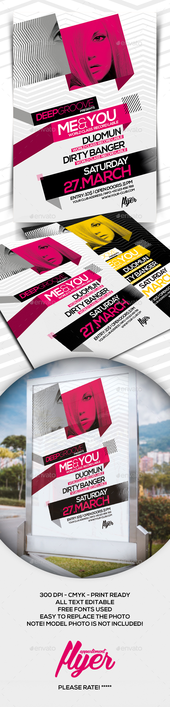 Deep Groove PSD Template - Clubs & Parties Events