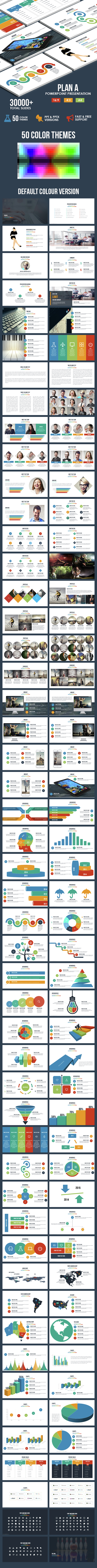 Plan A - Multi-purpose Powerpoint Template - Business PowerPoint Templates
