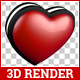 Heart 3D Render Mega Pack - GraphicRiver Item for Sale