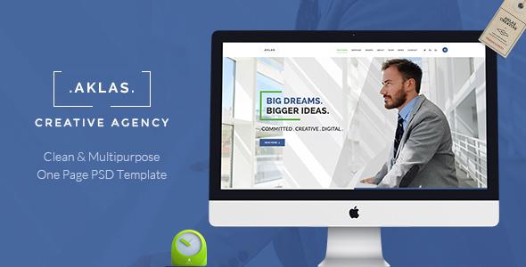 AKLAS - Multipurpose  Business PSD  - Business Corporate