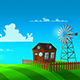 Sunny Cartoon Background - VideoHive Item for Sale
