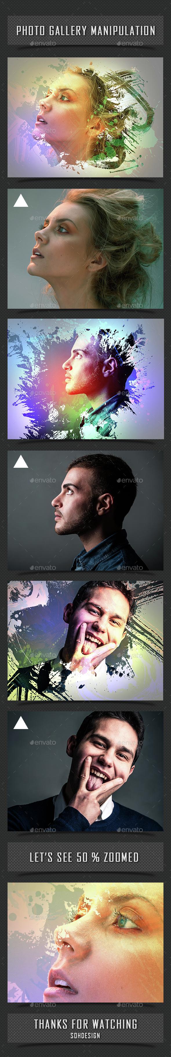 Photo Gallery Manipulation - Graphics
