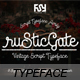 Rustic Gate Vintage Font - GraphicRiver Item for Sale