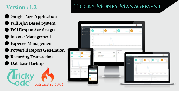 Tricky money Management 1.2 - CodeCanyon Item for Sale