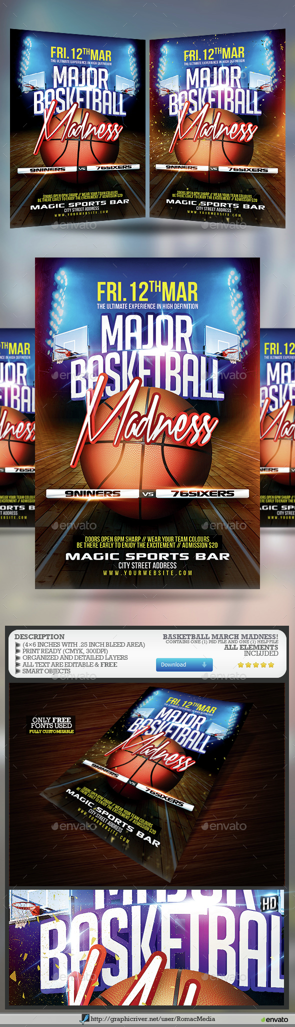 Basketball Madness - Sports Events