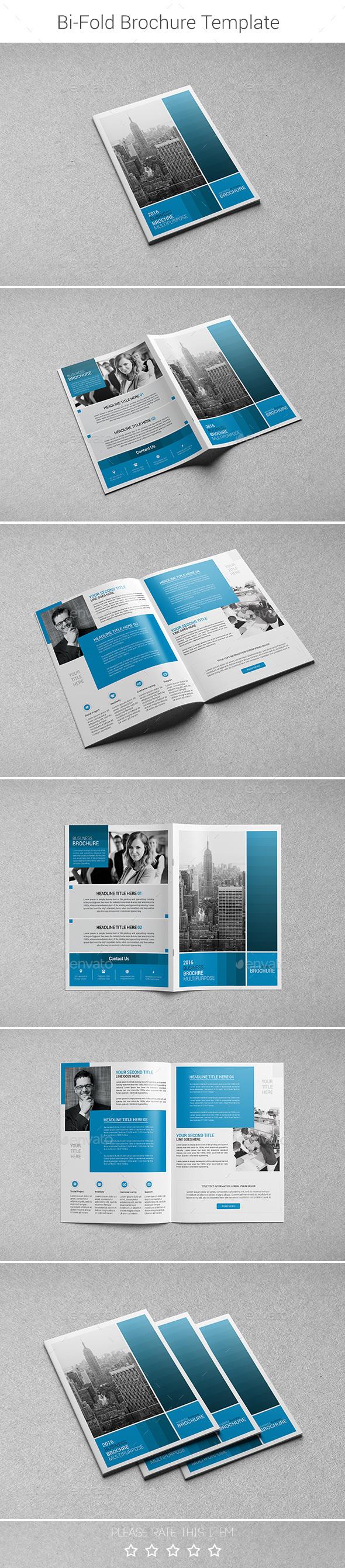 Corporate Bi-fold Brochure-Multipurpose 01 - Corporate Brochures