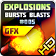 Explosions Blasts Bursts Detonations Fireballs 05 - GraphicRiver Item for Sale