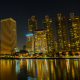 Buildings Business At Night City - VideoHive Item for Sale