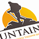 Mountain Hike Logo Template - GraphicRiver Item for Sale