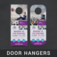 Corporate Door Hanger - V2 - GraphicRiver Item for Sale