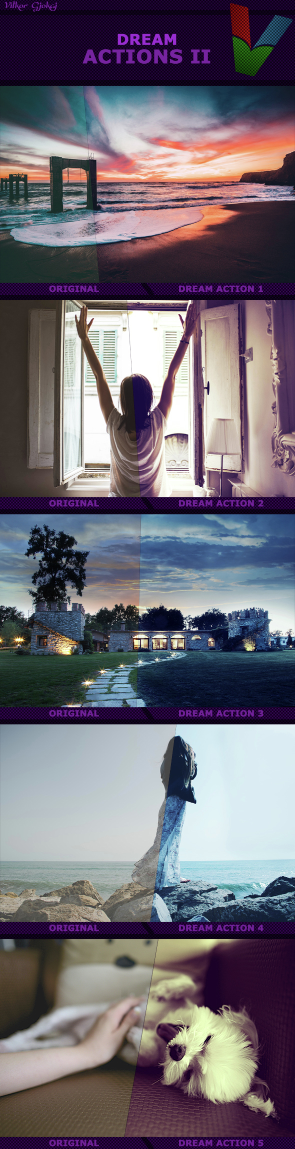 Dream Actions II - Photo Effects Actions