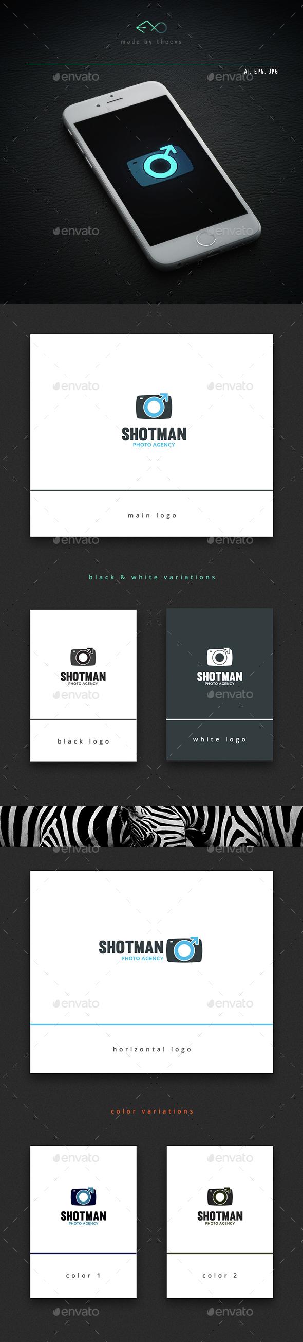 Shotman - Vector Abstract