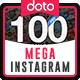 Mega Instagram Banners Bundle - 100 Templates - GraphicRiver Item for Sale