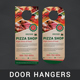 Restaurant Door Hanger - GraphicRiver Item for Sale