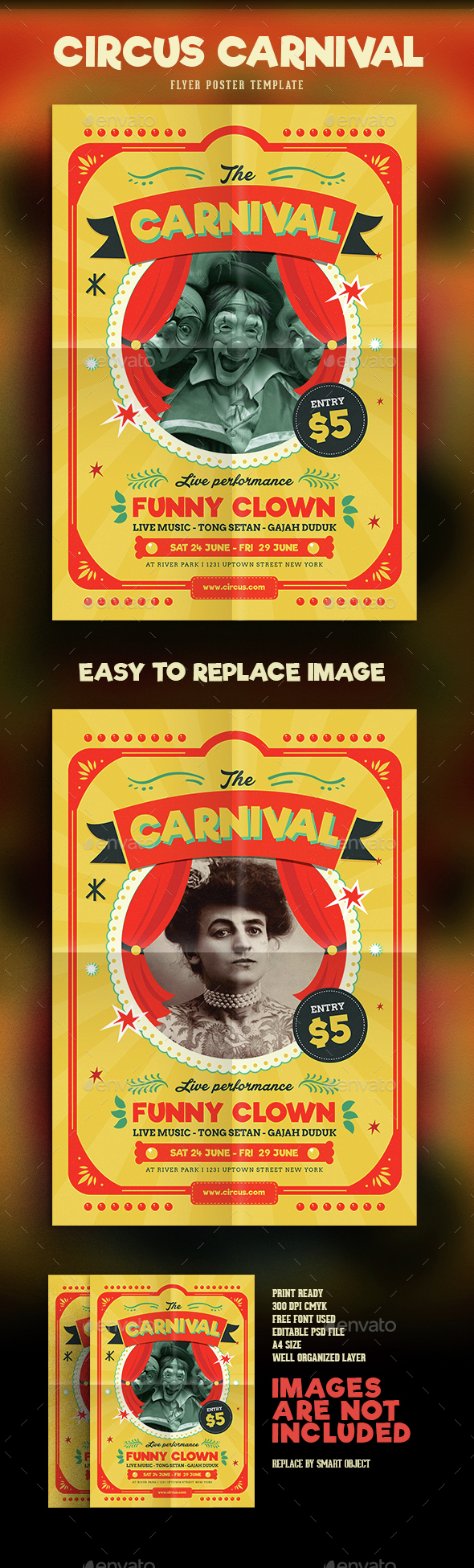 Sideshow Graphics Designs Templates From GraphicRiver