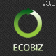 ECOBIZ -  Business WordPress Theme Nulled