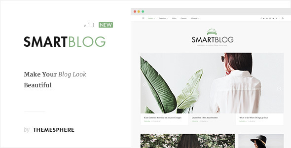 Blog Theme - SmartBlog - Personal Blog / Magazine