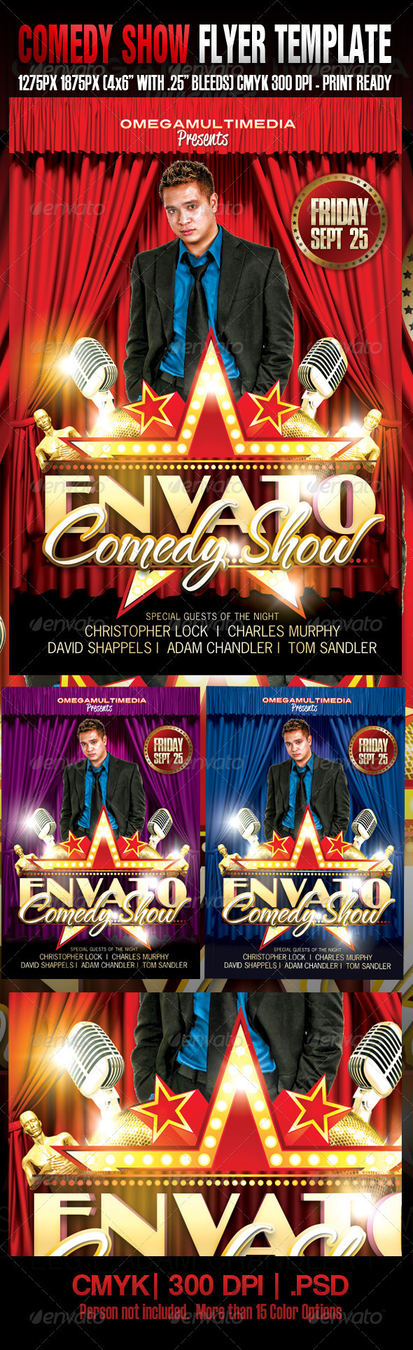 Comedy Show Template - Concerts Events