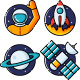 Space Icon Set Nulled