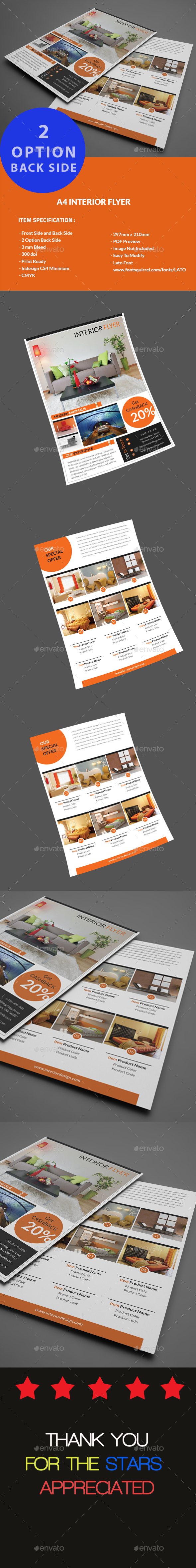Interior Design Flyer - Flyers Print Templates