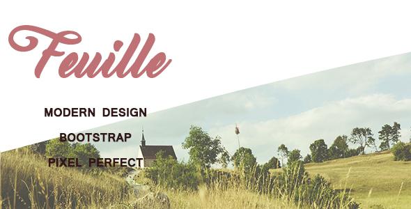 Feuille – Creative Portfolio Template