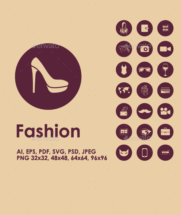 Fashion simple icons - Miscellaneous Icons