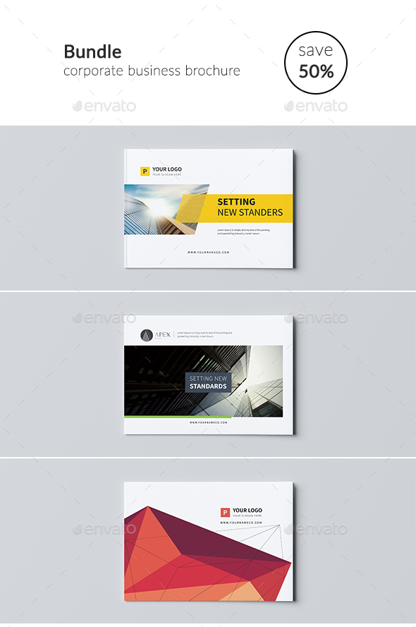 Business Brochure Bundle - Corporate Brochures