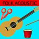 Happy Spring Folk - AudioJungle Item for Sale