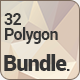 Polygon Backgrounds Bundle - GraphicRiver Item for Sale