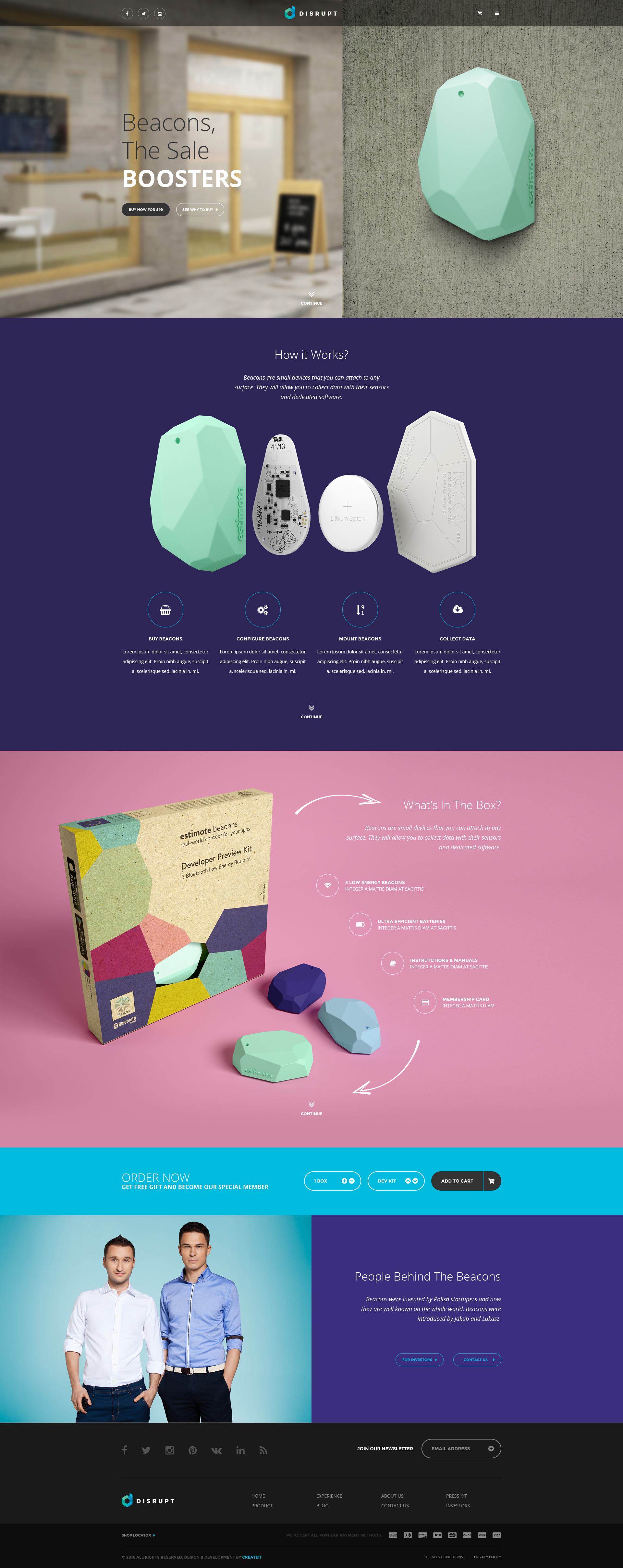 Disrupt Single Product ECommerce HTML Template By ThemePlayers - Single product ecommerce template