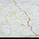 Map with Roads Rotating - VideoHive Item for Sale