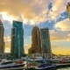 Cityscapes Sunset Clouds In Dubai. - VideoHive Item for Sale