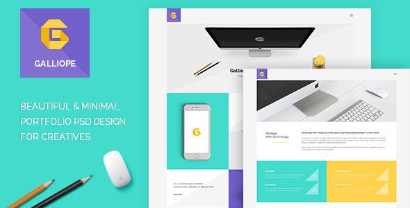 Galliope – Agency/Portfolio HTML Template