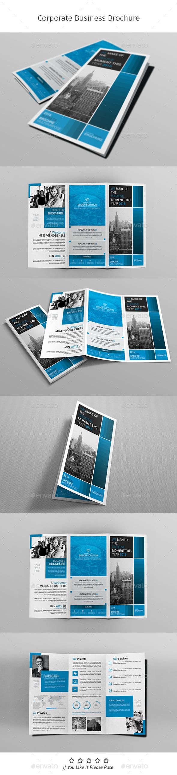 A4 Corporate Business Flyer Template Vol 06 - Corporate Brochures