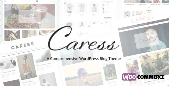 Caress – A Comprehensive WordPress Blog Theme