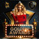 Golden Awards Flyer Template - GraphicRiver Item for Sale