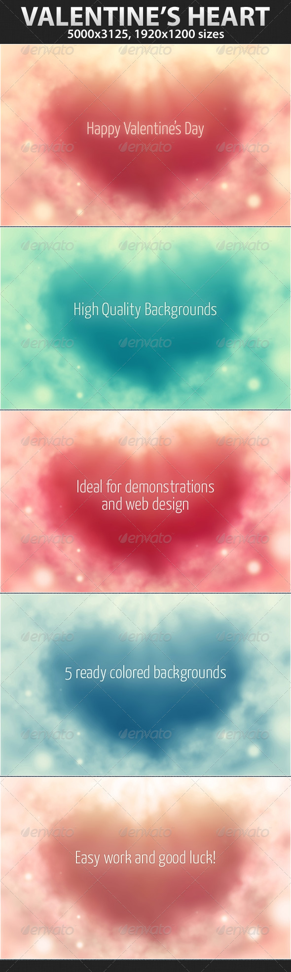Valentine's heart - Backgrounds Graphics