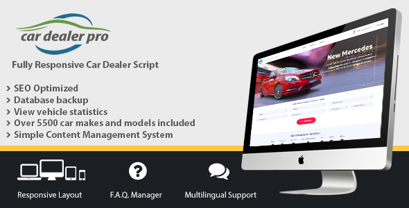 Car Dealer Pro - CodeCanyon Item for Sale