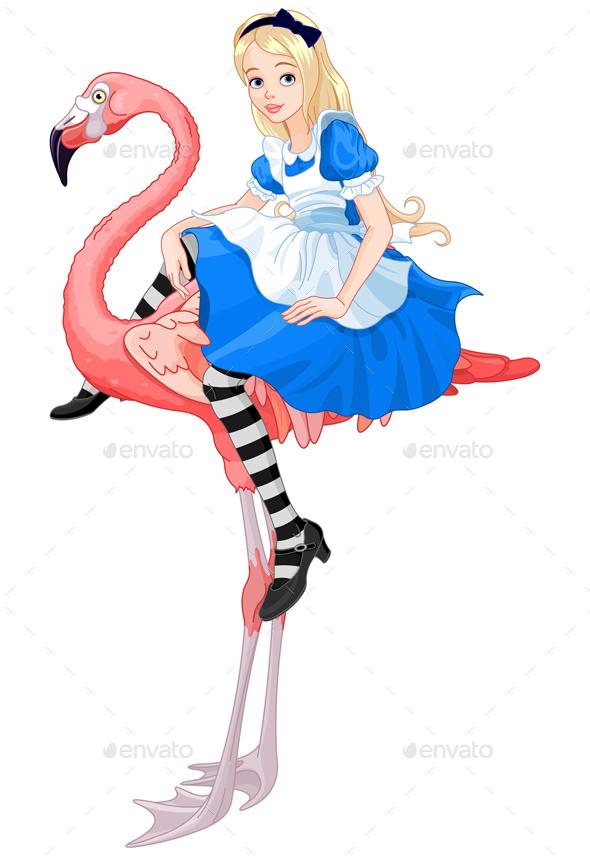 Alice on Flamingo - People Characters