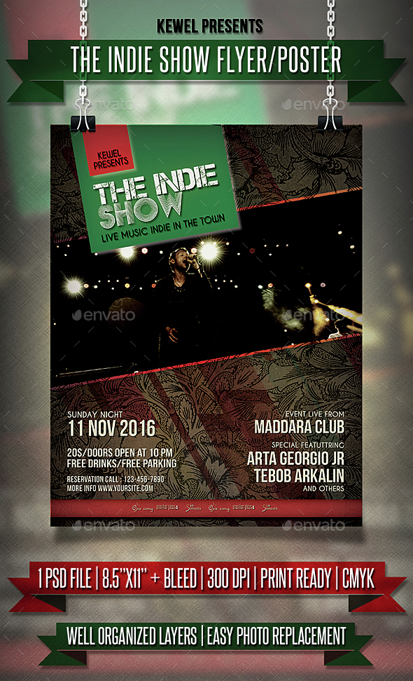 Indie Show Event Flyer / Templates - Events Flyers