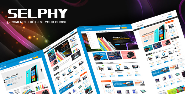 Selphy - Electronics eCommerce Bootstrap Template - Electronics Technology