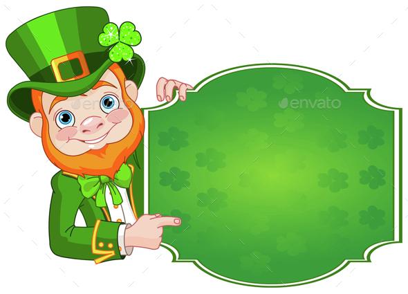 St. Patrick's Leprechaun - People Characters