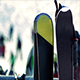 Snowboards At Ski Resort - VideoHive Item for Sale