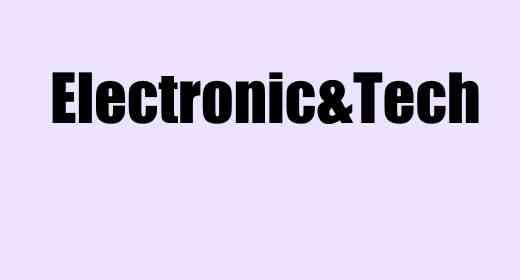 Electronic&Tech